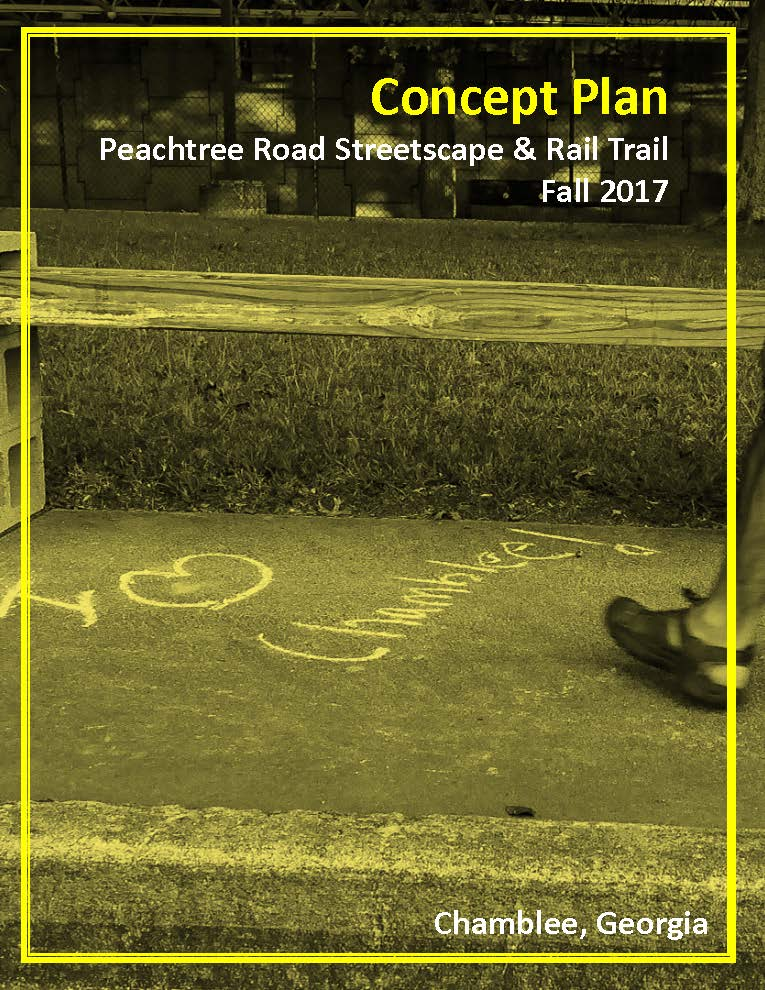Peachtree Road Streetscape - Rail Trail Final Concept Plan