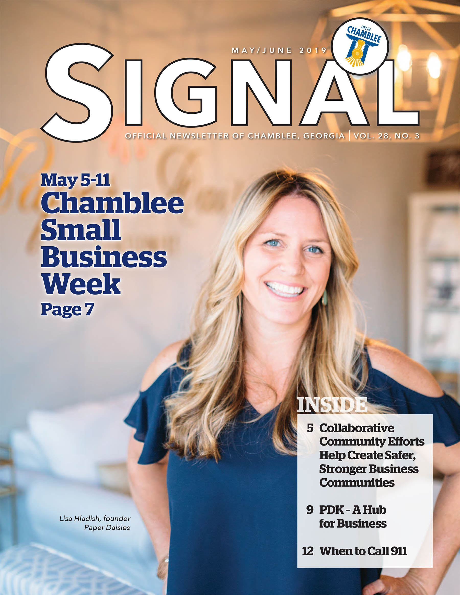 May-June Signal Cover Paper Daisies Founder