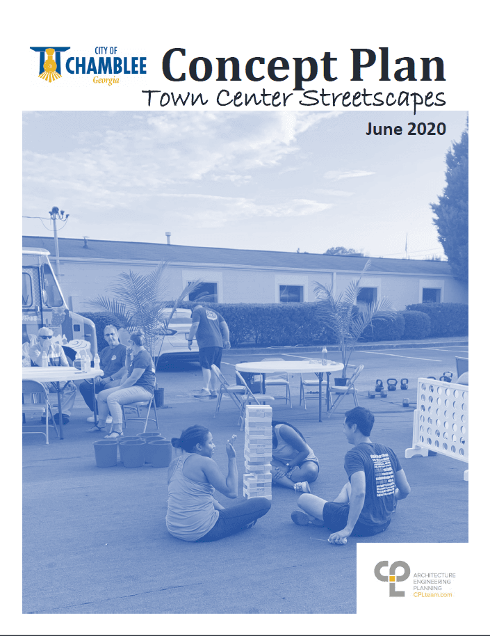 Town Center Streetscapes Master Plan