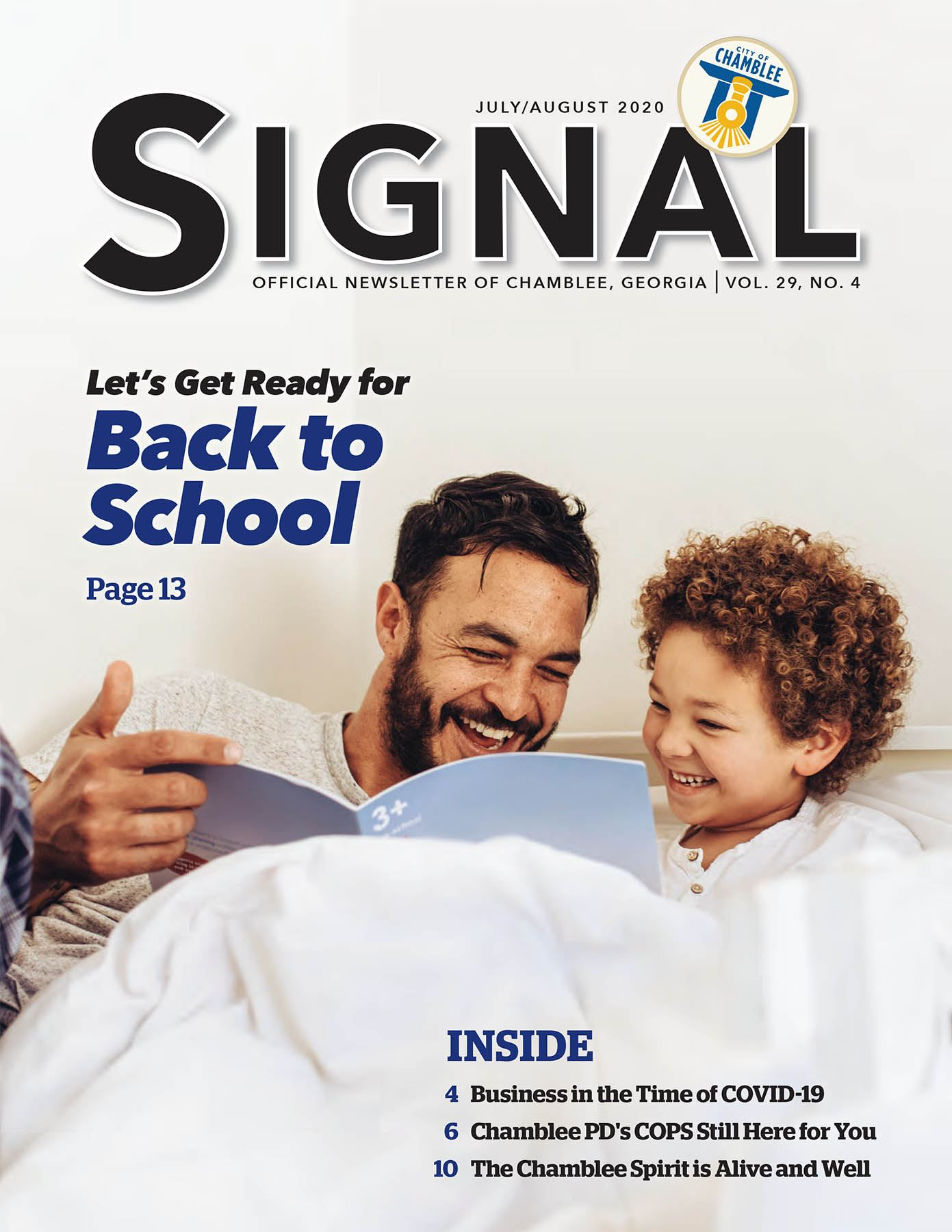 July-Aug Signal Newsletter Cover