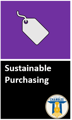 Click to read full Sustainable Purchasing Policy Opens in new window
