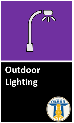 Click to access latest Outdoor Lighting regulations on Municode.  Opens in new window