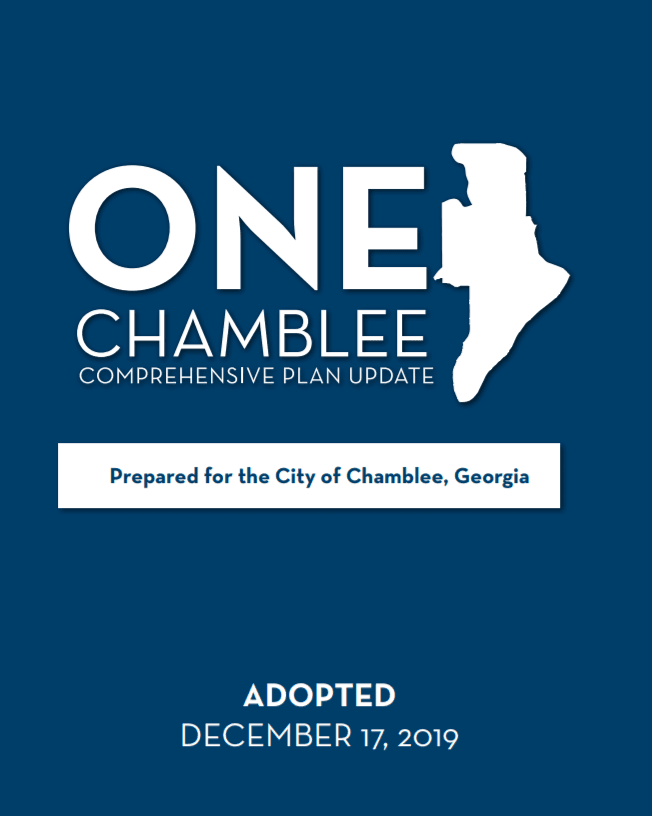 One Chamblee Comp Plan Icon Opens in new window